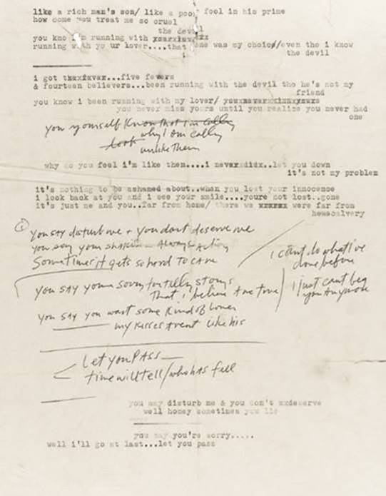 Original Bob Dylan Lyrics to be Offered for Auction at Sotheby's